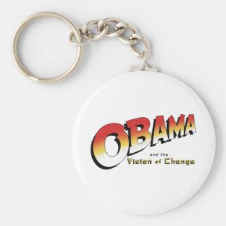 Obama y la cruzada pasada en 2012 llavero redondo tipo pin