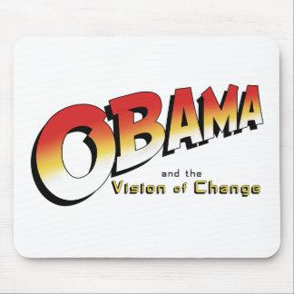 Obama y la cruzada pasada en 2012 alfombrillas de ratones