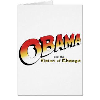 Obama y la cruzada pasada en 2012 felicitacion