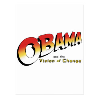 Obama y la cruzada pasada en 2012 tarjeta postal