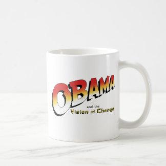 Obama y la cruzada pasada en 2012 tazas