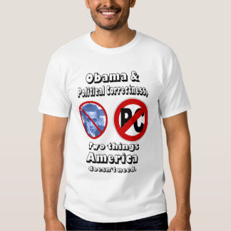 obama y PC Camisas