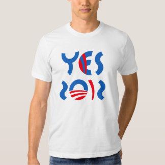 Obama - Yes 2012 T-shirt