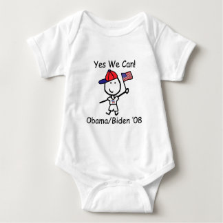 Obama - Yes We Can! Baby Bodysuit