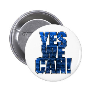 """Obama """"Yes We Can!"""" Button"""