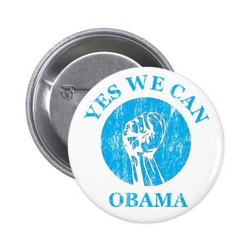"""""""Obama Yes We Can """" Button"""