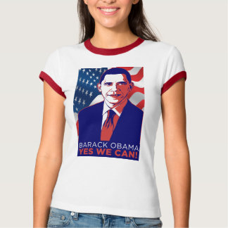 "Obama ""Yes We Can"" Inauguration Speech T-Shirt"