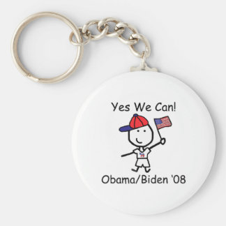 Obama - Yes We Can! Keychain