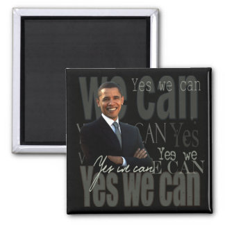 OBAMA - Yes we can Magnet