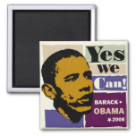 Obama Yes We Can! Magnet