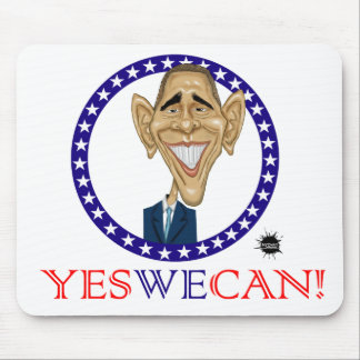 Obama Yes We Can! Mouse Pad
