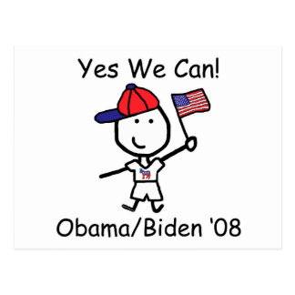 Obama - Yes We Can! Post Cards