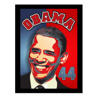 Obama - Yes We Can Postcard