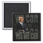 OBAMA - Yes we can Refrigerator Magnet