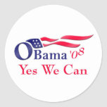 Obama yes we can Sticker