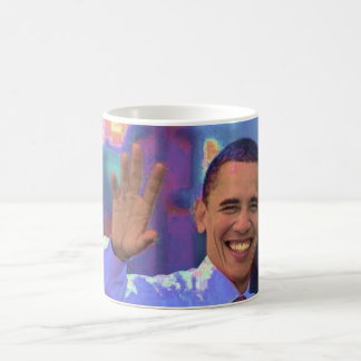 OBAMA - YES WE CAN - YES WE DID COFFEE MUGS
