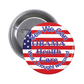 Obama yes we can't Button