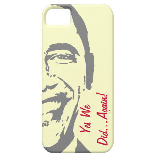 Obama Yes We Did Again iPhone 5 Case