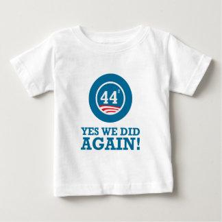 Obama - Yes We Did AGAIN Tee Shirt