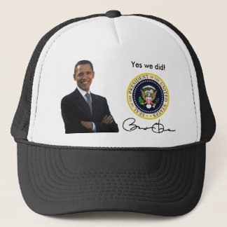 Obama Yes We Did - Baseball Cap