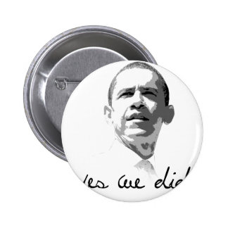 Obama: Yes We Did 2 Inch Round Button