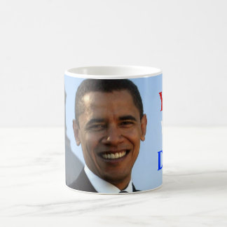 Obama Yes We Did! Classic White Coffee Mug