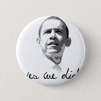 Obama: Yes We Did Pinback Button