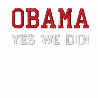 OBAMA - YES WE DID! POLO SHIRT