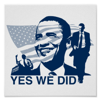 Obama Yes We Did Poster