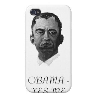 OBAMA - YES WE WILL iPhone 4/4S CASES