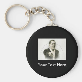 Obama-You Keychain