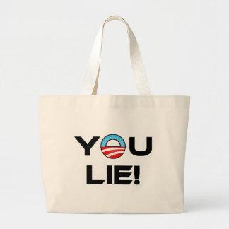 Obama You Lie Bag