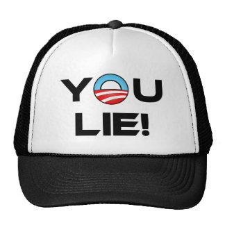 Obama You Lie Hat