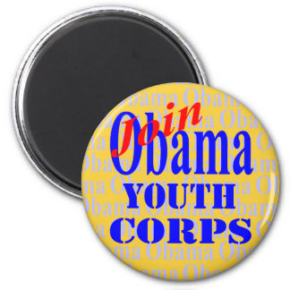 Obama Youth Corps Magnet