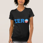 Obama Zero Accomplishments Tshirt