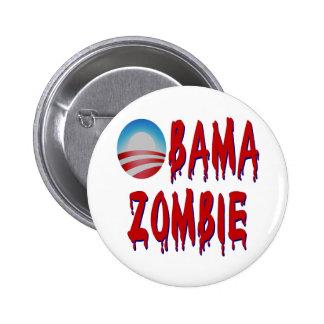 Obama Zombie Pins