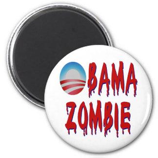 Obama Zombie Fridge Magnet