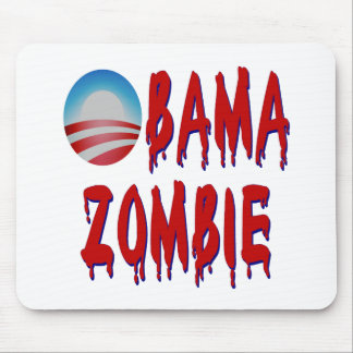 Obama Zombie Mouse Pad