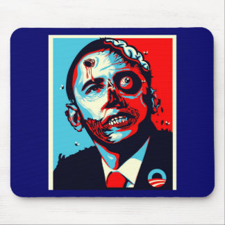 obama zombie mouse pads