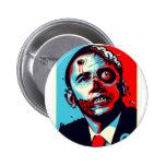 obama zombie pinback buttons