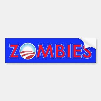 Obama Zombies! Car Bumper Sticker
