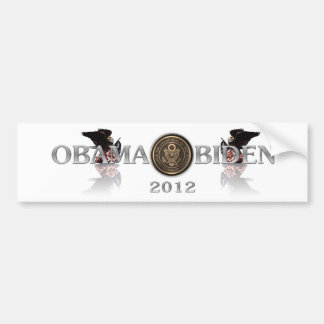 ObamaBiden2012bumpersticker Pegatina Para Auto