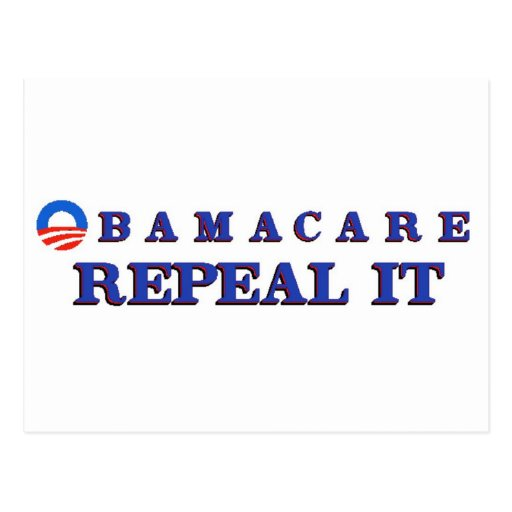 Obamacae Repeal It Postcards