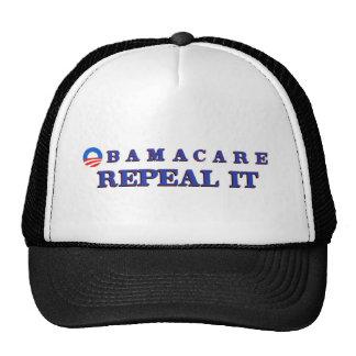 Obamacae Repeal It Trucker Hat
