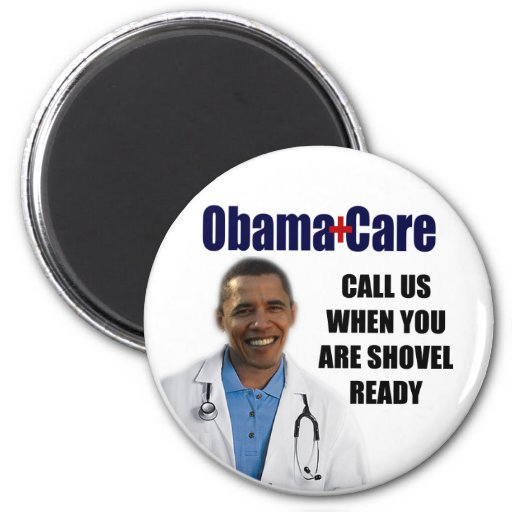 ObamaCare 2 Inch Round Magnet