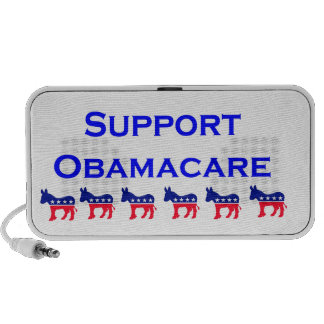 Obamacare 2 with donkey portable speakers