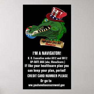 Obamacare AHA I'M A NAVIGATOR 2 Poster