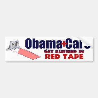 ObamaCare anti burocrático Pegatina Para Auto