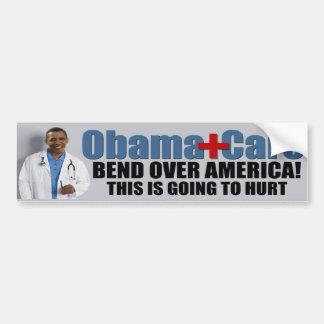 ObamaCare anti Etiqueta De Parachoque