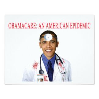 Obamacare Anti Obama Health Care Apparel Card